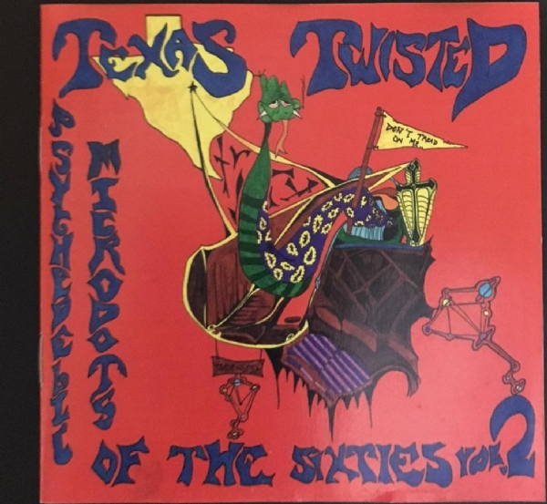 CD usado - Texas Twisted Psychedelic Microdots Of The Sixties