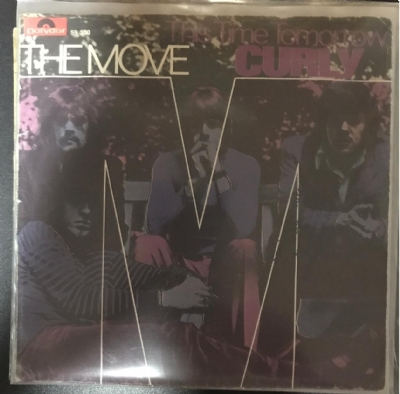 Single De Vinil Usado - The Move - Curly / This Time Tomorrow