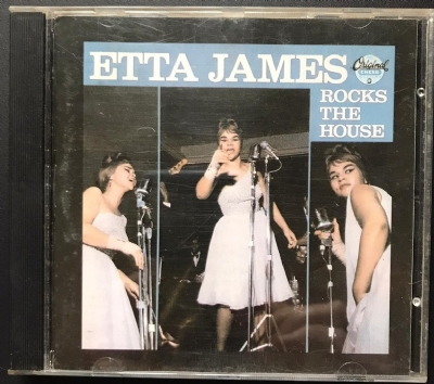 CD usado - Etta James - Rocks The House