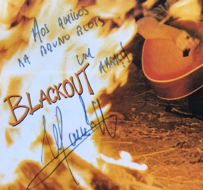 CD usado - Marcelo Nova - Blackout Autografado