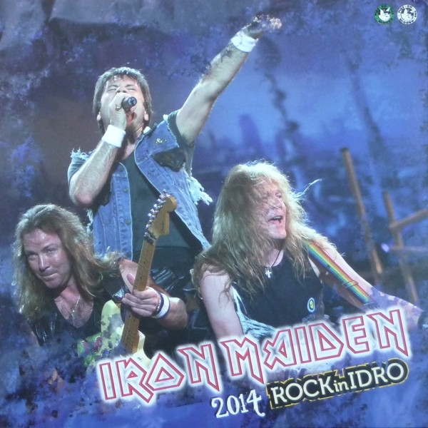 Disco De Vinil Novo - Iron Maiden - 2014 Rock In Idro Lp Duplo Colorido
