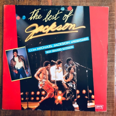 Disco De Vinil Usado - Michael jackson - The best of Jackson Lp