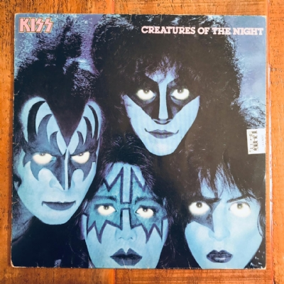 Capa de disco para reposição - Kiss - Creatures of the night