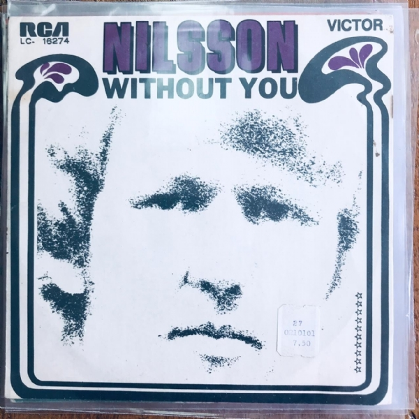Single De Vinil Usado - Nilsson - Without You / Gotta Get Up