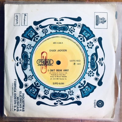 Single De Vinil Usado - Chuck Jackson - Just A Little Tear / I Can´T Break Away