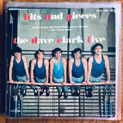 Single De Vinil Usado - The Dave Clark Five - Bits And Pieces/Can´T You See That´S She´S Mine/All Of The Time/I Love You No More