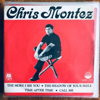Single De Vinil Usado - Chris Montez - The More I See You/The Shadow Of Your Smile/Time After Time/Call Me
