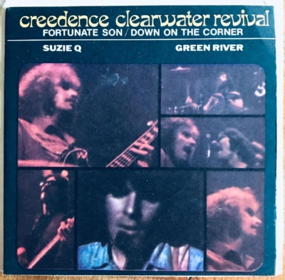 Single De Vinil Usado - Creedence Clearwater Revival - Fortunate Son/Suzie Q/Down On The Corner/Green River