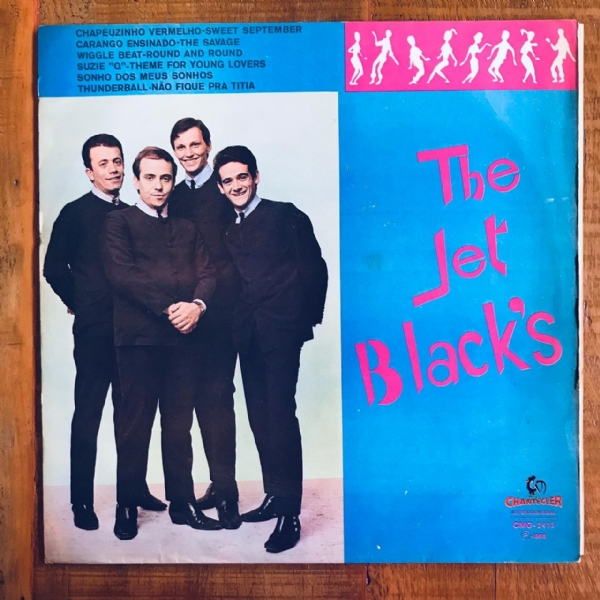 Disco De Vinil Usado - The Jet Blacks - The Jet Black´s Lp