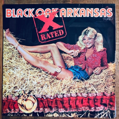 Disco De Vinil Usado - Black Oak Arkansas - X-Rated Lp