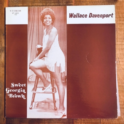 Disco De Vinil Usado - Wallace Davenport - Sweet Georgia Brown Lp