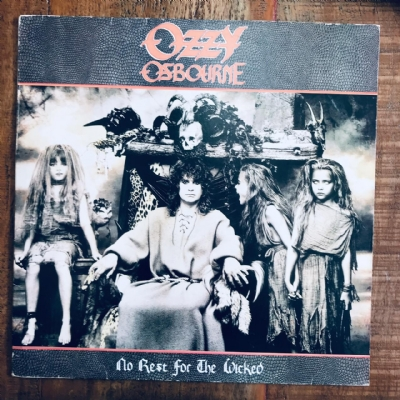 Disco De Vinil Usado - Ozzy Osbourne - No rest for the wicked Lp