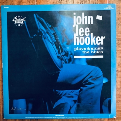 Disco de vinil usado - John Lee Hooker - Plays & Sings The Blues Lp
