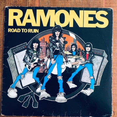 Disco De Vinil Usado - Ramones - Road To Ruin Lp