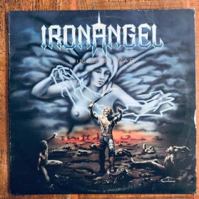 Disco De Vinil Usado - Iron Angel - Winds Of War Lp