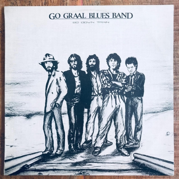 Disco De Vinil Usado - Go Graal Blues Band - So Down Train Lp