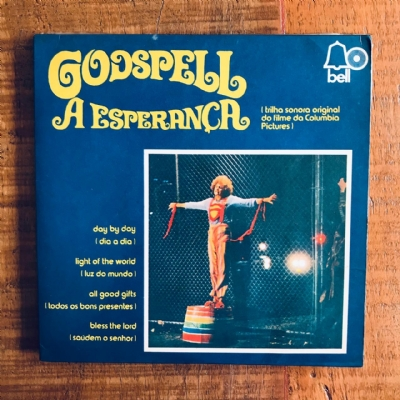 Single De Vinil Usado - Godspell A Esperança - Day By Day/Light Of The World/All Good Gifts/Bless The Lord