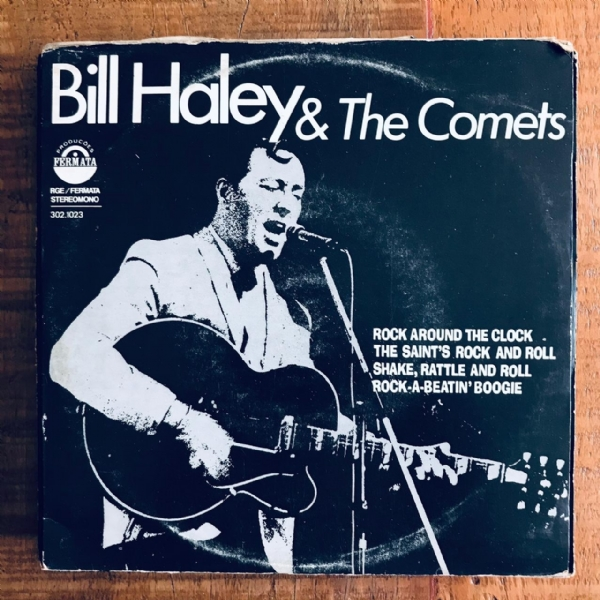 Single De Vinil Usado - Bill Haley & The Comets - Rock Around The Clock/The Saint´s/Shake,Rattle And Roll/Rock-A-Beatin´Boogie