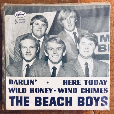 Single De Vinil Usado - The Beach Boys - Darlin´/Here Today/Wild Honey/Wind Chimes