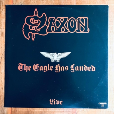 Disco De Vinil Usado - Saxon - The Eagle Has Landed Live Lp