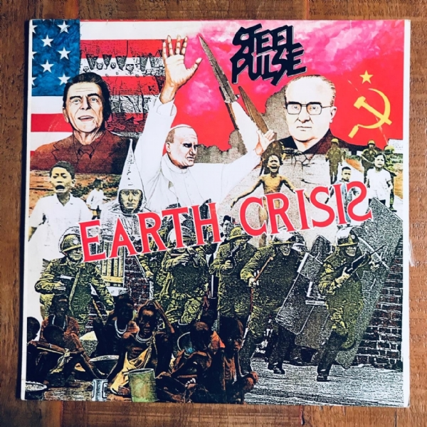 Disco De Vinil Usado - Steel Pulse - Earth Crisis Lp