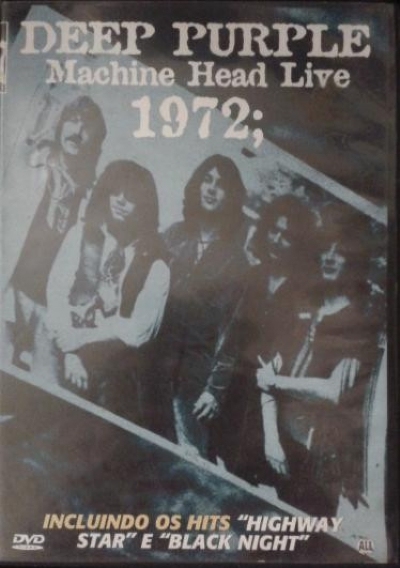 DVD - Deep Purple - Machine Head Live - 1972