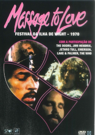 DVD - Message To Love - Festival Da Ilha De Wight - 1970