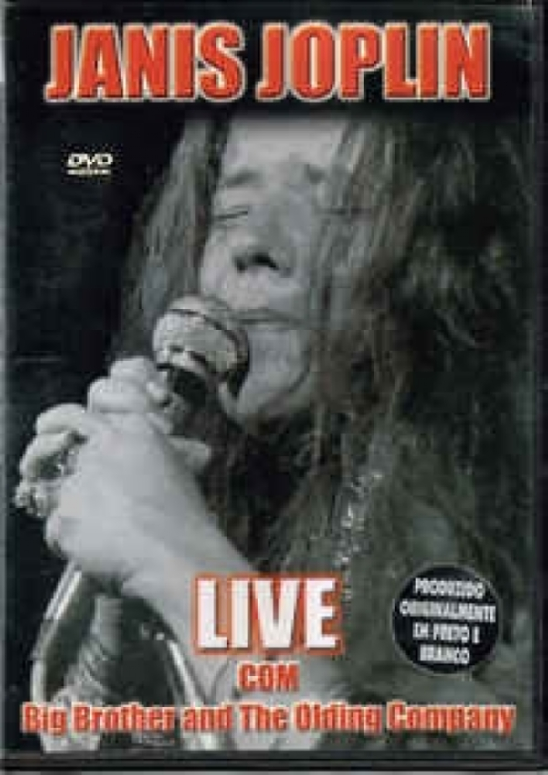 DVD - Janis Joplin & Big Brother & The Holding Company - Live