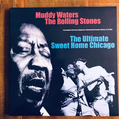 Disco De Vinil Novo - Muddy Waters & The Rolling Stones - The Ultimate Sweet Home Chicago Lp Triplo