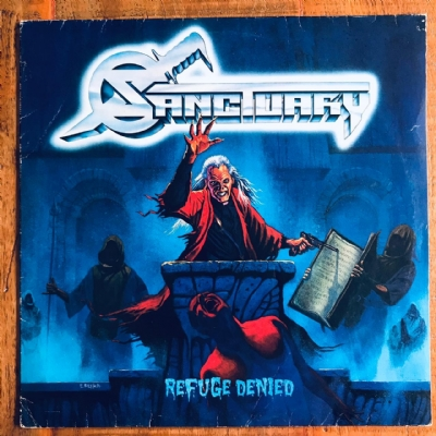 Disco De Vinil Usado - Sanctuary - Refuge Denied Lp