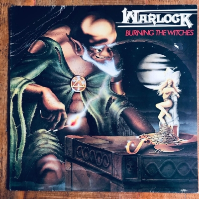 Disco De Vinil Usado - Warlock - Burning The Witches Lp