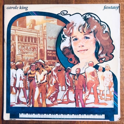 Disco de vinil usado - Carole King - Fantasy Lp