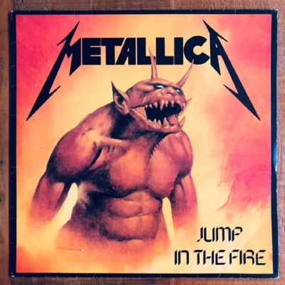 Disco De Vinil Usado - Metallica - Jump In The Fire Lp