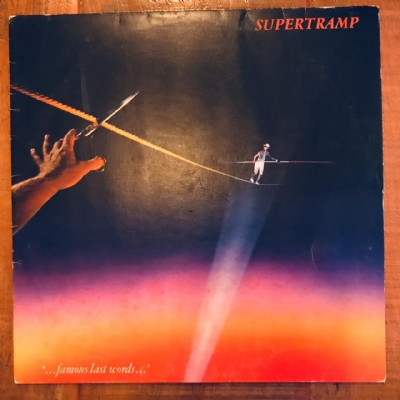 Disco De Vinil Usado - Supertramp - ...Famous last words... Lp