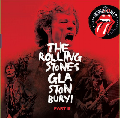 Disco De Vinil Novo - The Rolling Stones - Glastonbury! Part 2 Lp 180g