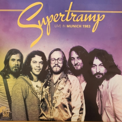 Disco De Vinil Novo - Supertramp - Live In Munich 1983 Lp 180g