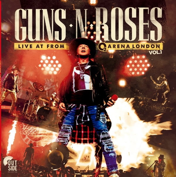 Disco De Vinil Novo - Guns N' Roses - Live At The O2 Arena London Lp 180g