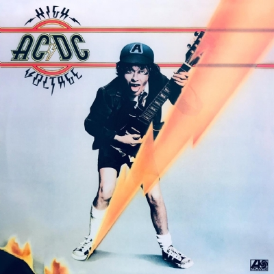 Disco De Vinil Novo - Ac/Dc - High Voltage - Lp Colorido