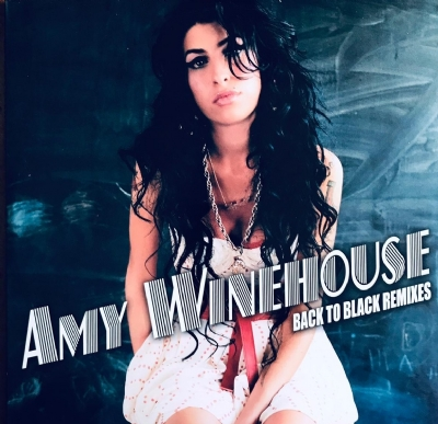 Disco De Vinil Novo - Amy Winehouse - Back To Black Remixes Lp Duplo Colorido