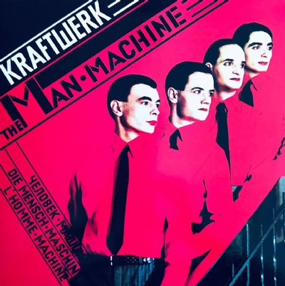 Disco De Vinil Novo - Kraftwerk - The Man Machine Lp Colorido