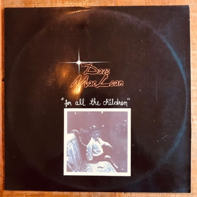 Disco De Vinil Usado - Dave Maclean - For All The Children Lp
