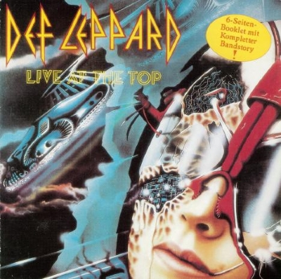 CD - Def Leppard - Live At The Top
