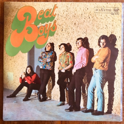 Disco De Vinil Usado - The Beat Boys - The Beat Boys Lp