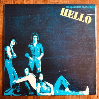 Disco De Vinil Usado - Hello - Keeps Us Off The Streets Lp
