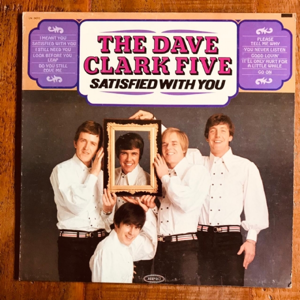 Disco De Vinil Usado - The Dave Clark Five - Satisfied With You Lp