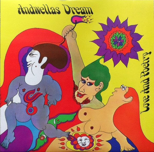 Disco De Vinil Novo - Andwellas Dream - Love And Poetry Lp 180 g
