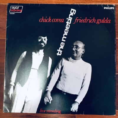 Disco De Vinil Usado - Chick Corea And Friedrich Gulda - The Meeting Lp