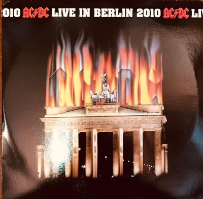 Disco De Vinil Novo - AC/DC - Live In Berlin 2010 Lp Triplo Colorido