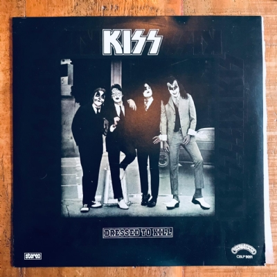 Disco De Vinil Usado - Kiss - Dressed To Kill Lp