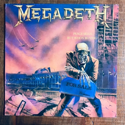 Disco De Vinil Usado - Megadeth - Peace Sells...But Who´s Buying? Lp